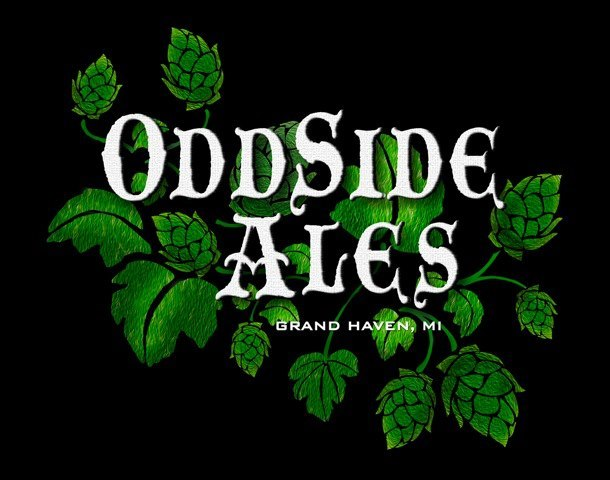 Odd Side Pineapple Express beer Label Full Size