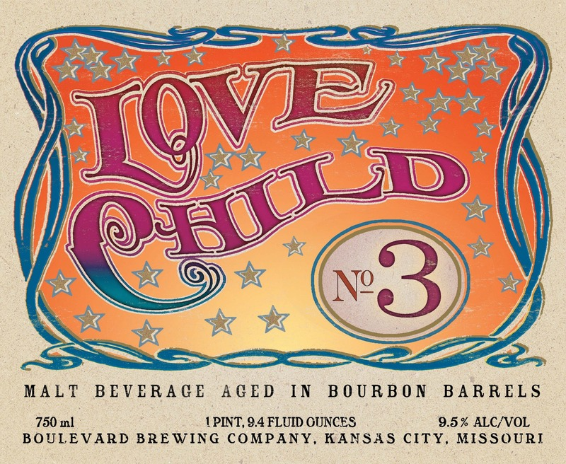 Boulevard Love Child No. 3 beer Label Full Size