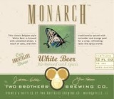 Two Brothers Monarch White Beer
