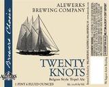 AleWerks Twenty Knots beer