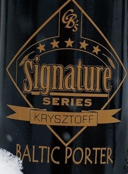 Custom Brewcrafters Krysztoff Baltic Porter beer Label Full Size