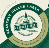 Church Street Heavenly Helles Lager Beer