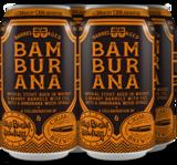 Oskar Blues + Cigar City Barrel Aged Bamburana beer