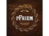 pFriem Belgian Strong Dark beer