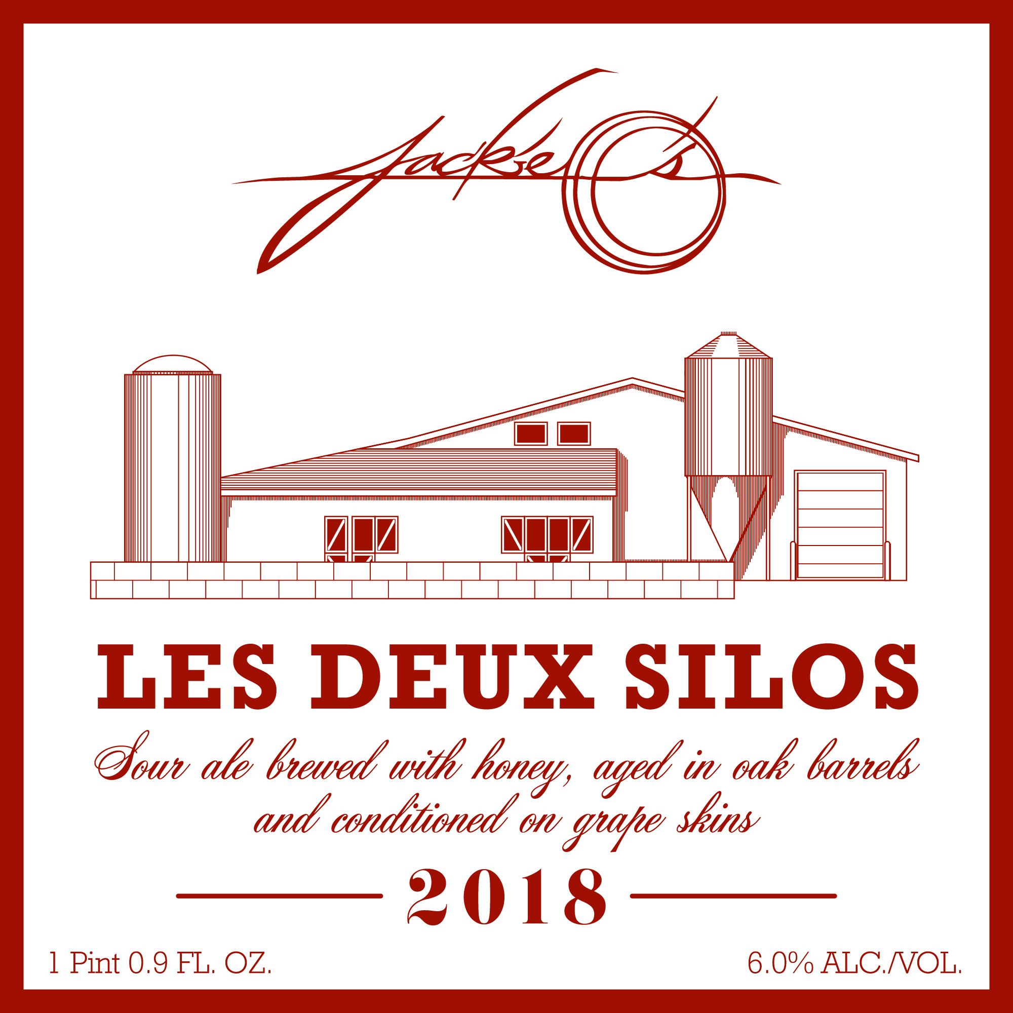 Jackie O's Les Deux Silos Beer