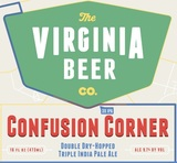 Virginia Beer Co. Confusion Corner beer