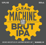 Lakefront Clean Machine beer