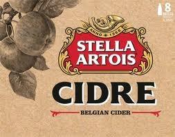 Stella Artois Cidre beer Label Full Size