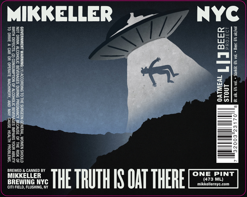 Mikkeller NYC The Truth Is Oat There beer Label Full Size