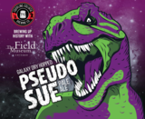 Toppling Goliath Pseudo Sue with Galaxy beer