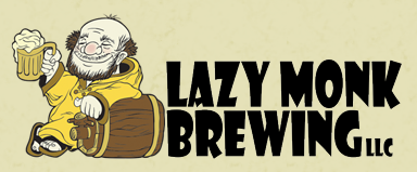 Lazy Monk Bohemian Pilsner beer Label Full Size