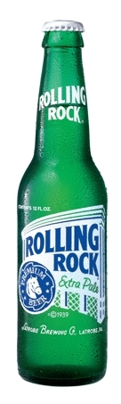 Rolling Rock beer Label Full Size