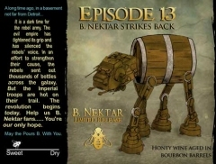 B. Nektar Episode 13 beer Label Full Size