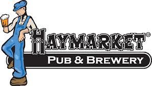Haymarket Bourbon Barrel Aged Passion House Coffee Porter beer Label Full Size