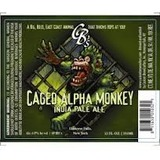 Custom Brewcrafters Caged Alpha Monkey Beer