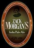 Morgantown Zack Morgan's IPA beer