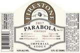 Firestone Walker Parabola Barrel Aged Imperial Stout beer