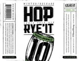 10 Barrel Hop Rye'It IPA beer
