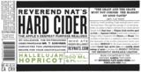 Reverend Nat's Hallelujah Hopricot beer