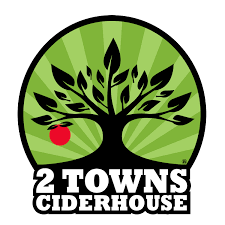 2 Towns Pearadise beer Label Full Size