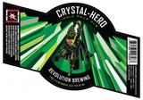 Revolution Crystal Hero beer