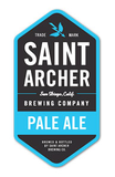 Saint Archer Pale Ale beer
