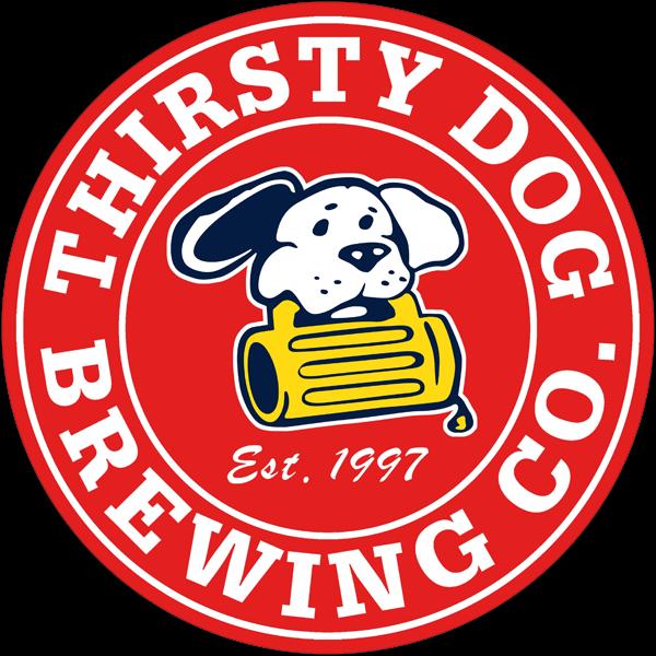Thirsty Dog Orthus Belgian Dubbel beer Label Full Size