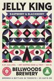 Bellwoods Raspberry/Blackberry Jelly King beer