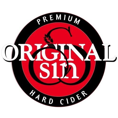 Original Sin Elderberry Cider beer Label Full Size