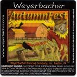 Weyerbacher Autumnfest beer