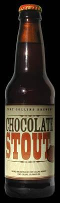 Fort Collins Chocolate Stout beer Label Full Size