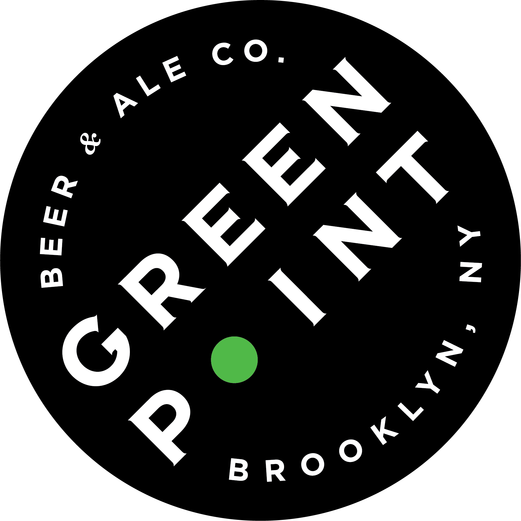 Greenpoint IPA beer Label Full Size