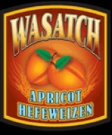 Wasatch Apricot Hefeweizen beer Label Full Size
