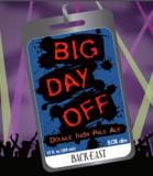 Back East Big Day Off Beer