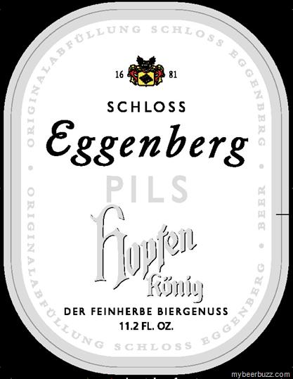 Eggenberg Hopfen Konig Pils beer Label Full Size