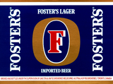 Foster's Lager Beer