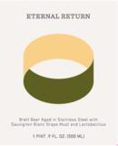 Threes Eternal Return: Sauvignon Blanc: 2016 Harvest beer