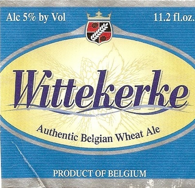 Wittekerke Belgian Wheat beer Label Full Size