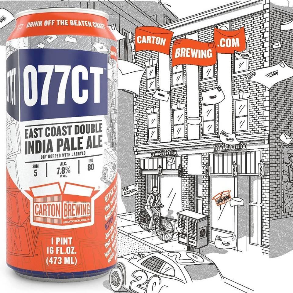 Carton 077CT Jarrylo beer Label Full Size