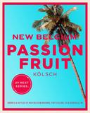New Belgium Passion Fruit Kolsch beer