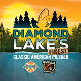 Half Day Brewing/Crystal Lake Brewing Diamond Lake's Finest beer