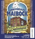 Appalachian Anniversary Maibock beer