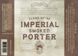 Deschutes/Great Lakes Class of 88 Imperial Smoked Porter Beer