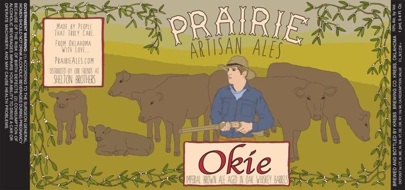 Prairie Artisan Okie beer Label Full Size
