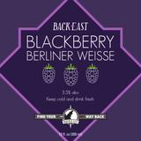 Back East Blackberry Berliner Weisse beer