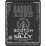 Scotch De Silly Barrel Aged Ale beer Label Full Size
