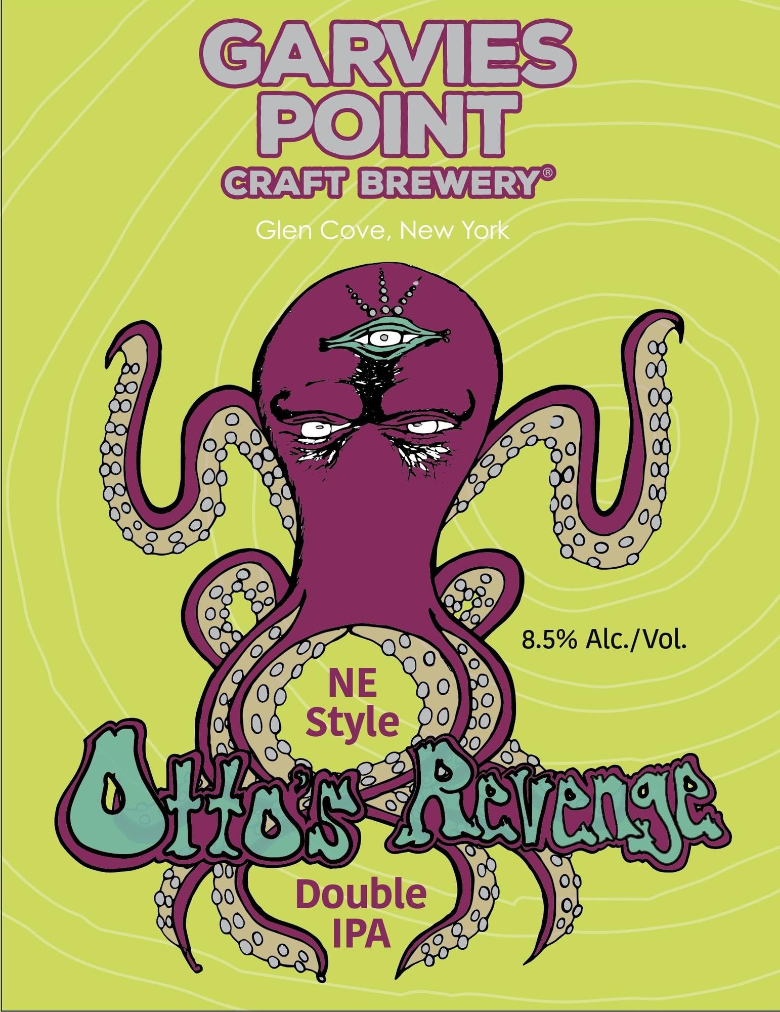 Garvies Point Otto's Revenge beer Label Full Size