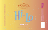 Forge Brewhouse Hi-Lo Hazy IPA beer