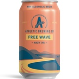 Athletic Free Wave NA Double Hop IPA beer