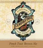 Lickinghole Creek French Toast Brown Ale beer